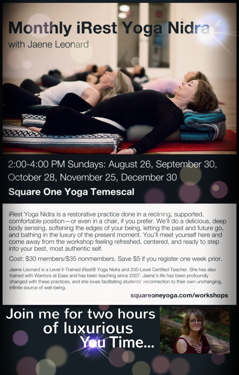 iRest Yoga Nidra Square One